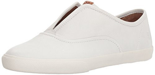 FRYE Women's Maya CVO Slip on Sneaker, White, 7.5 M US
