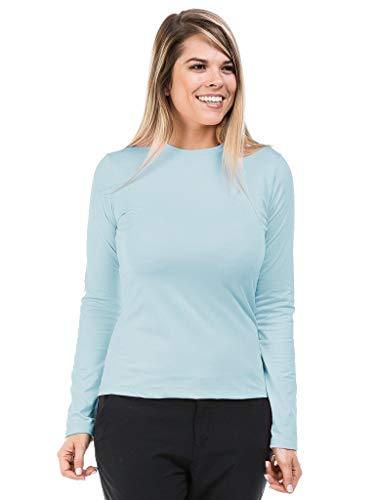 Camiseta Feminina Térmica Para Frio Com Proteção Solar Manga Longa Extreme Uv