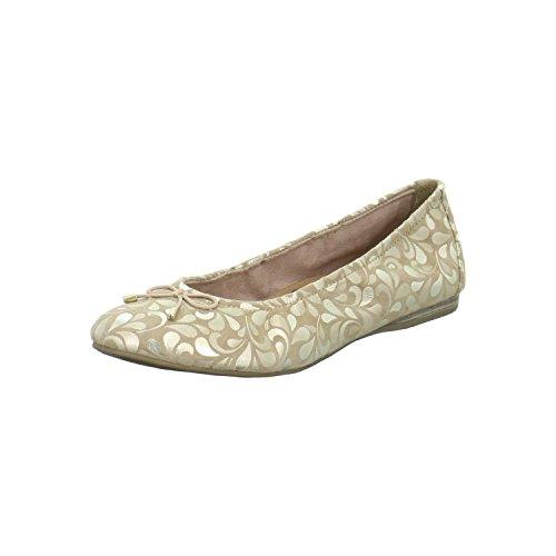 gold Flats 22189 1 496 Women's Gold Tamaris 1 Gold Ballet 28 q48pS