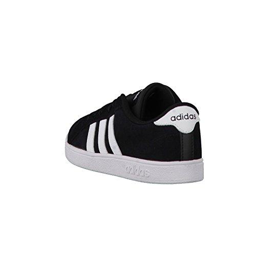 adidas Baseline K, Zapatillas de Deporte para Niños Varios colores (Negro (Negbas / Ftwbla / Negbas))