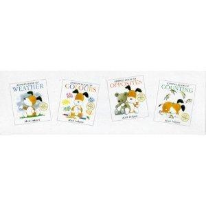 Kipper Books: 4 board books: Kippers Book of Weather, Kippers Book of Colours, Kippers Book of Counting and Kippers Book of Oppo - Kippers Book