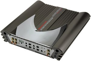 Power Acoustik OV4-600 Gothic Series 600-Watt 4-Channel Car Amplifier