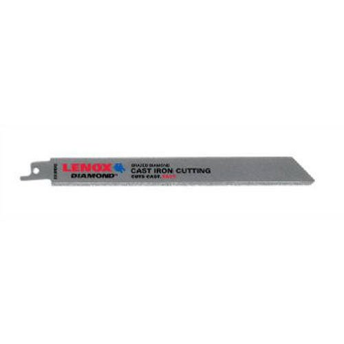 Lenox Tools 10833800RDG Diamond Grit Reciprocating Saw Blade, 8-Inch, - Blades Saw Grit Carbide Reciprocating