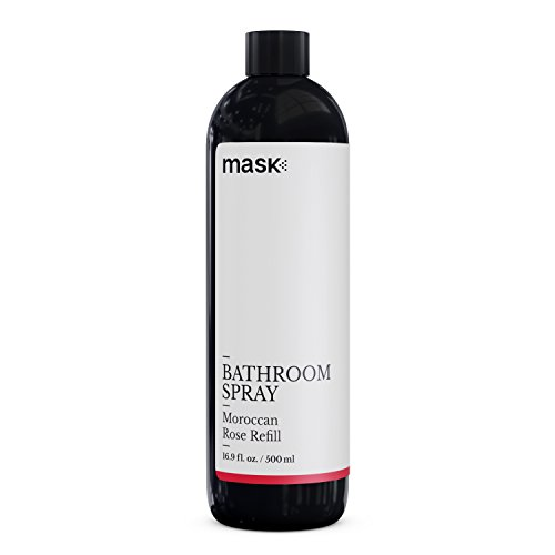 - Mask Toilet Spray, Moroccan Rose, 16-Ounce, Deodorizer Bathroom Spray