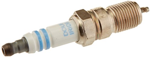 Bosch 9601 Double Iridium Spark Plug (4X Longer Service Life), Pack of 4