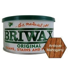 Briwax (Mahogany) Furniture Wax Polish, Cleans, stains, and - Briwax Polish Wax