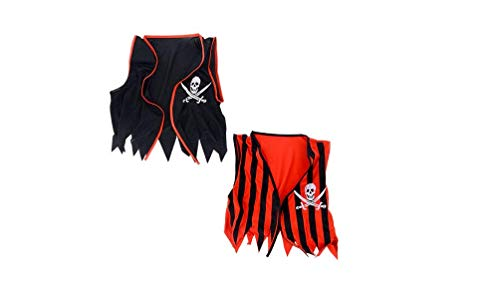 J&J's ToyScape Red & Black Pirate Vest for