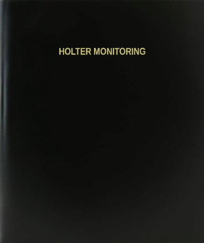 BookFactory® Holter Monitoring Log Book / Journal / - Holter Monitoring
