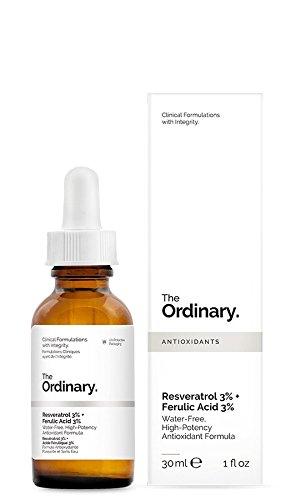 The Ordinary Resveratrol 3% + Ferulic Acid 3% Antioxidant 1 fl oz / 30ml