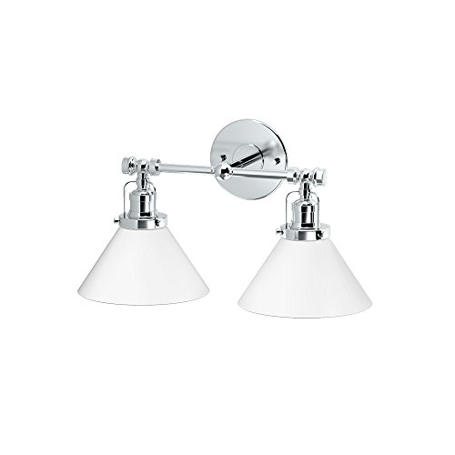 Gatco 1613 Cafe Single Sconce, Chrome ()
