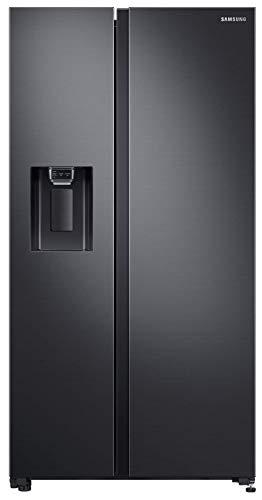 Samsung 640 Liters Side By Side Refrigerator, Grey/Black - RS64R5331B4, 1 Year Warranty