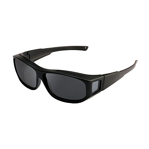 Fit Over Glasses Sunglasses - with Polarized Lenses for Men and - Clip Mask On Glasses