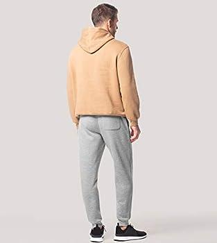 300 g//m2 Thick /& Soft Fleece Sweatpants LAPASA Mens Jogger Pants - Draw Cord Waist Casual Sweats M22