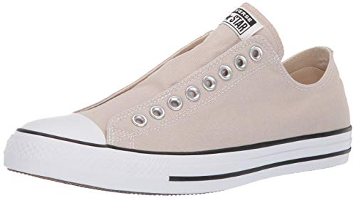 Converse Men's Chuck Taylor All Star Slip Sneaker, Papyrus/White/Black, 9 M ()