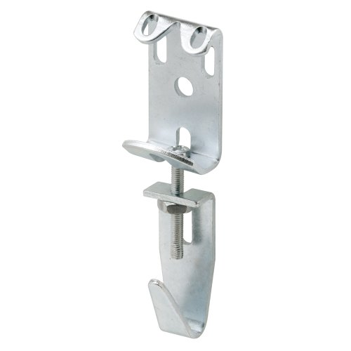 Prime-Line U 9131 Picture & Mirror Hanger, 2-7/8 in. to 3-11/16 in. Adjustable, Steel, Heavy Duty, (Pack of 2)