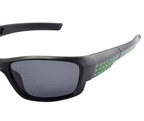 de Gafas sol libre aire de de deportivas unisex FlowerKui Gafas polarizadas al sol Black ciclismo d58ywx