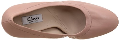 Mujer Grace Eva Tacón Pink Lea Dusty Zapatos para Rosa Clarks de 1Ywaqq