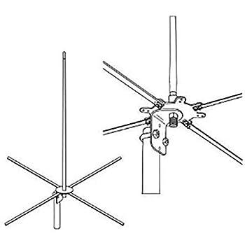 "Firestik 15/"" 2-Meter Tunable Tip-1//4 Wave"