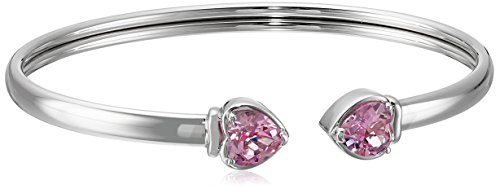 xpy-created-pink-sapphire-double-heart-open-bangle-bracelet-65
