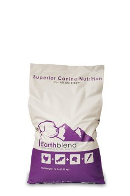Earthblend Natural Dog Food - 16 LB Bag