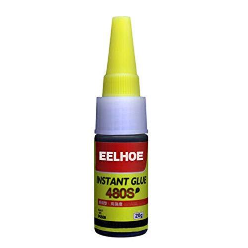 ErYao Mighty Tire Repair Glue, Car Rubber Repair Tire Glue Tyre Puncture Sealant Glue for Bike Car Tire Repair (Black B)