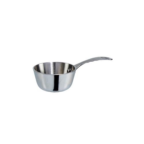 "Winco DCSC-3S 5-Ounce Mini Saucier Pan 3"" All Stainless Steel - 1 Each"