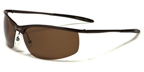Xloop Metal Boating Driving Sunglasses (Brown) (Sunglasses Xloop)