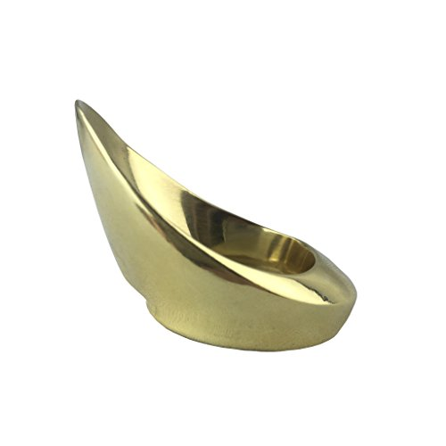 Longbowmaker Premium Handmade Brass Thumb Ring For Traditional Archery TR2