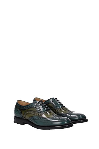 ce0001woodmilitary Lacets Church's À Vert Femme Chaussures Eu xza1nZqFP