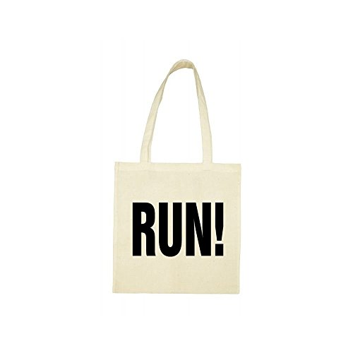 run bag Tote Tote bag beige I06Tq7cw