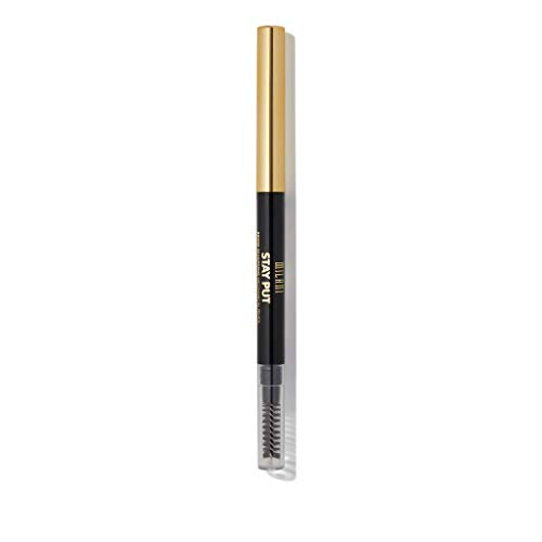 Milani Stay Put Brow Sculpting Mechanical Pencil - Espresso (0.01 Ounce) Cruelty-Free Long-Lasting Eyebrow Pencil that Defines and Shapes Brows