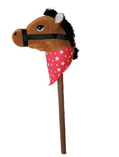 (PonyLand Brown Horse Stick with Sound)