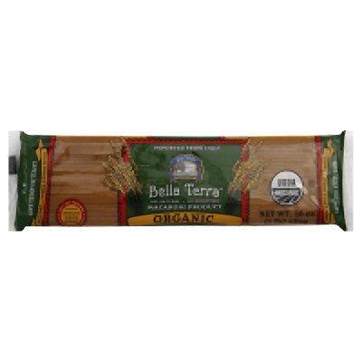 Bella Terra Pasta Whole Wheat Capellini Organic, 16 oz (Organic Whole Wheat Spaghetti)