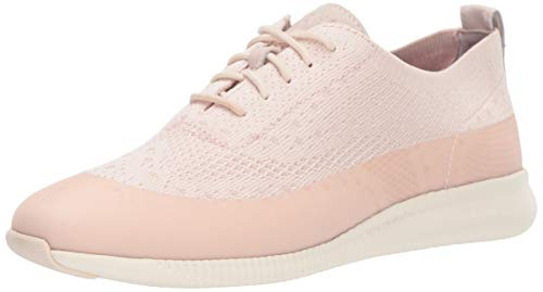 Cole Haan Women's 2.Zerogrand St Ox Wr Oxford, Morganite/Ivory, 8.5 B US