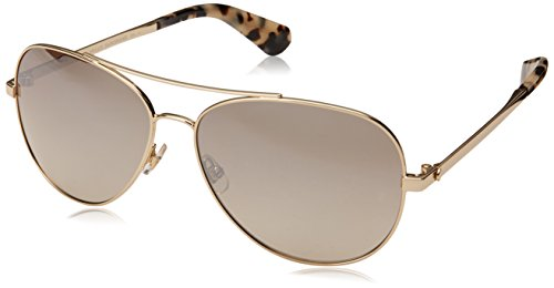 Kate Spade New York Womens Avaline 2/S Gold Havana/Brown Gradient Mirror One Size One Size