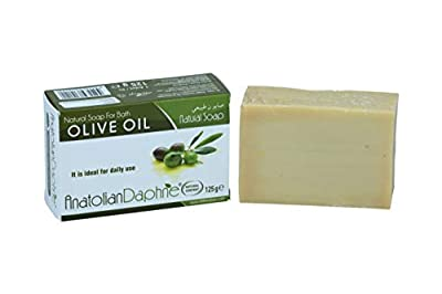 100% Natural Olive Oil Soap 12 Piece Pack Handmade Unprocessed Vegan Body Bath Cleansing Bar Safe Hypoallergenic - Ideal Gift