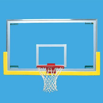 Bison Unbreakable Short Glass Backboard -