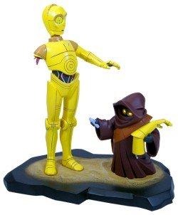 (Star Wars Animated C-3PO Maquette)