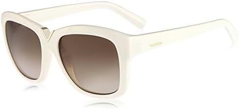 VALENTINO Sunglasses V664S 103 Ivory 55MM