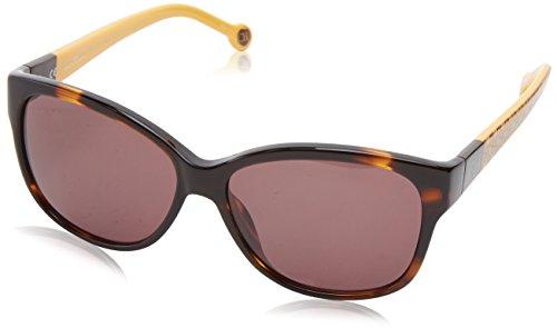 carolina-herrera-womens-she511-743-rectangular-sunglassestortoise-mustard56-mm
