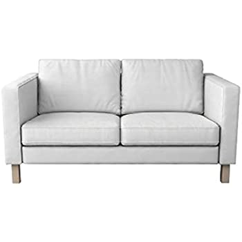 Amazon.com: Ikea KARLSTAD Sofa cover slipcover, Knisa light ...