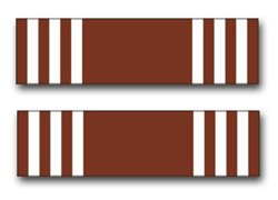 - Military Vet Shop US Army Good Conduct Medal Ribbon Vinyl Transfer Window Bumper Sticker Decal 3.8