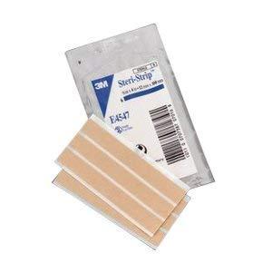 88E4547 - Three M Steri-Strip Elastic Skin Closure Strip 1/2 x 4