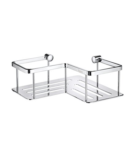 - Smedbo SME DK3025 Corner Soap Basket, Polished Chrome,