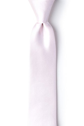 Baby Pink Baby Pink Silk Tie For Boys
