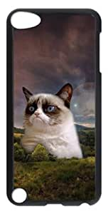 Creative Custom Picture Grumpy Cat Hard Back Case for ipod touch 5 5th Generation -61904