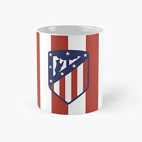 (Atletico Madrid Football Footy 11 Oz Coffee Mug)