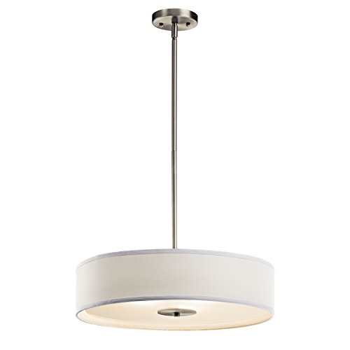 Kichler 42121NI Three Light Pendant/Semi Flush Mount