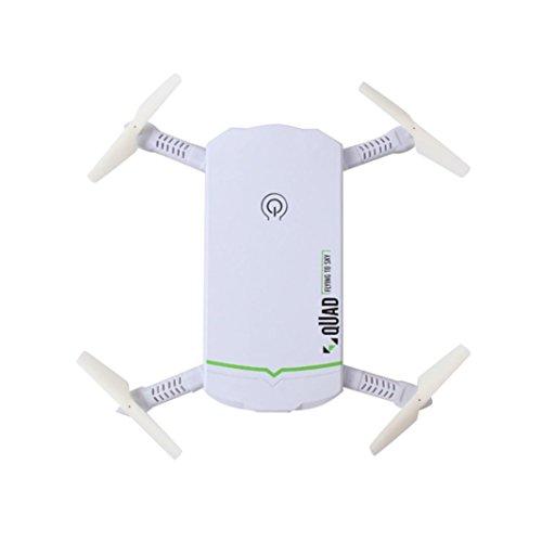 Price comparison product image Dreamyth High Tech Portable Mini 2.4G 6Axis HD Camera WIFI FPV RC Quadcopter Drone Selfie Foldable (White)