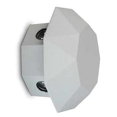 goLEDgo LED Decorative Wall Light, Outdoor Waterproof, AC90-260V, Matt Black Finish as Standard. for Wall Decor of Building, Villa, Park, Garden, Hotel, KTV Light